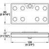 LED 9004 - lampa punjiva USB kablom - 833.87.021